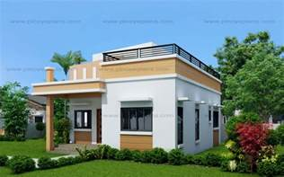 Small House Designs With Pictures Maryanne One Storey With Roof Deck Shd 2015025