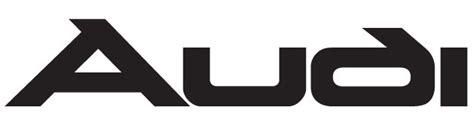 Audi Schriftart by Audi Cartype