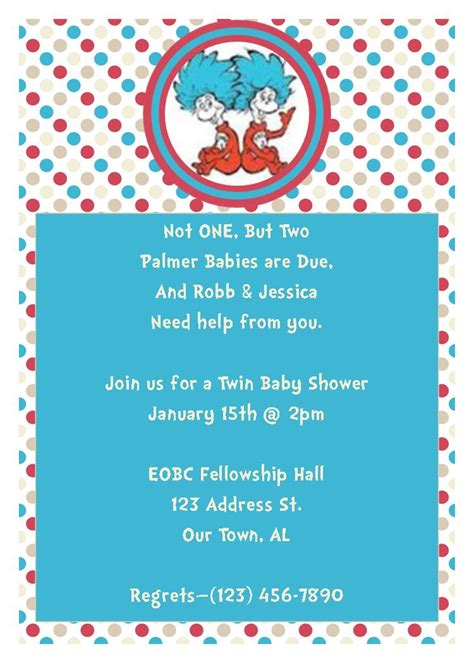 thing 1 and thing 2 baby shower invitations thing 1 thing 2 baby shower invitation great by