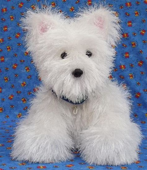 knitting patterns for puppies knit westie puppy by rainebo craftsy
