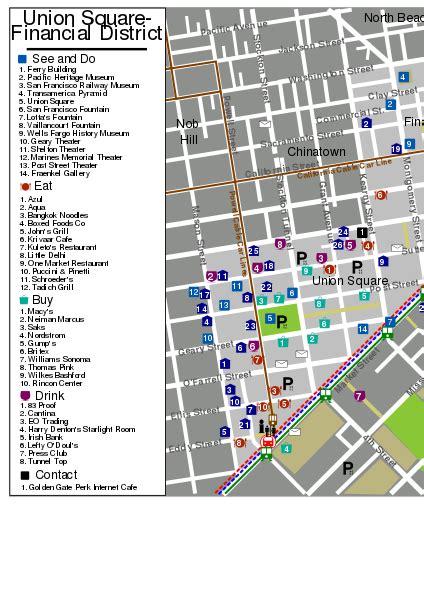 san francisco map financial district file sanfrancisco unionsquare financialdistrict map svg