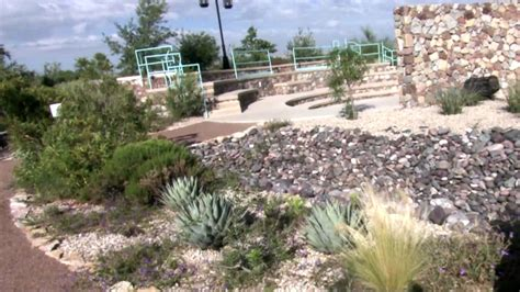 Botanical Garden El Paso Xeric Demonstration Garden Layering Landscapes El Paso Botanical Garden