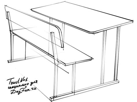How To Draw A Desk Step By Step by How To Draw A School Desk Step By Step Arcmel