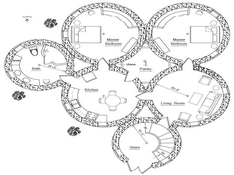 hobbit house floor plans hobbit house plans