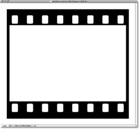 film strip photo collage in photoshop part 1