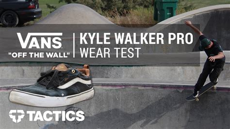Sepatu Vans Kyle Walker vans kyle walker pro skate shoes wear test review