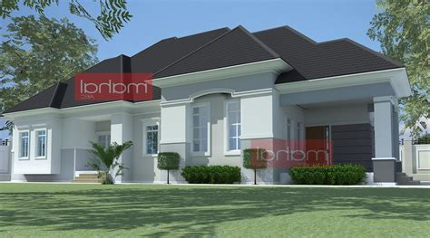 Architectural Designs For 4 Bedroom Bungalow Home Combo 4 Bedroom Bungalow Architectural Design