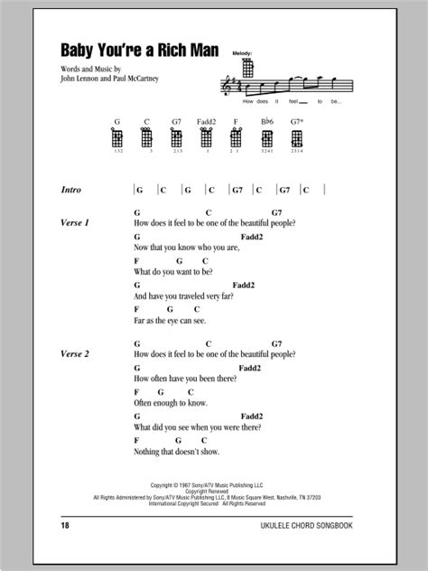 strumming pattern of you re beautiful tablature guitare baby you re a rich man de the beatles