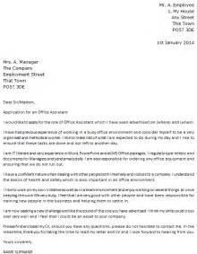 Cover Letter Office by Sle Cover Letter Cover Letter Sle Office Assistant
