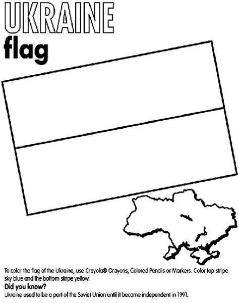 flag coloring pages crayola ukraine coloring page crayola com