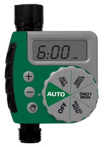 Outdoor Faucet Timer Orbit 91213 One Dial Garden Hose Digital Water Timer