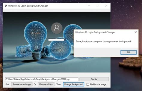 wallpaper changer software for windows 10 use a custom background for your windows 10 login screen