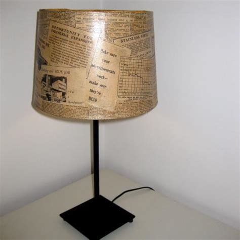Decoupage Light Shade - weckner design f light retro decoupage lshade