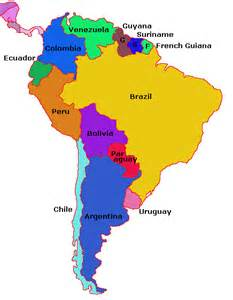 middle and south america map pictures to pin on