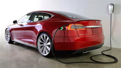 Electric Car Tesla Tesla Model S Electric Car The Most Efficient And Powerful