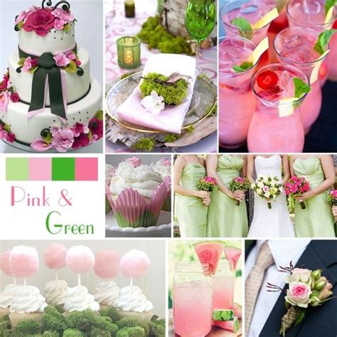 pastel pink green wedding color ideas pictures photos and images for