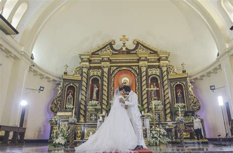 simple church wedding ceremony philippines simple violet church wedding philippines wedding