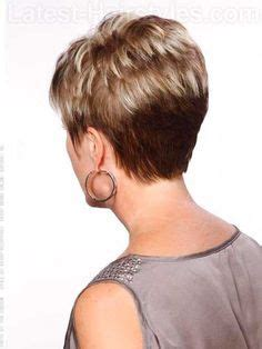 mature hairstyles back view mona patterson hairstyles for older round faces
