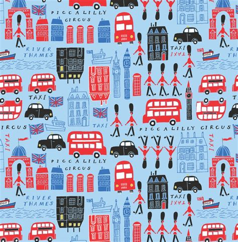 pattern paper next day delivery london theme birthday present gift wrapping paper piccalilly