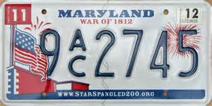 Md Vanity Plates Maryland 3 Y2k