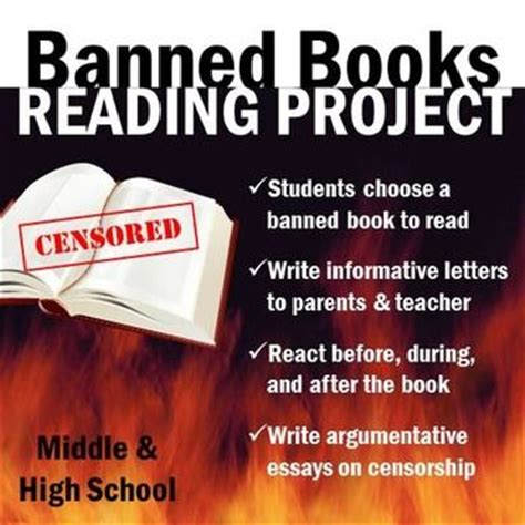Censorship Of Books In Schools Essay by Banned Books Individualized Reading Writing Project