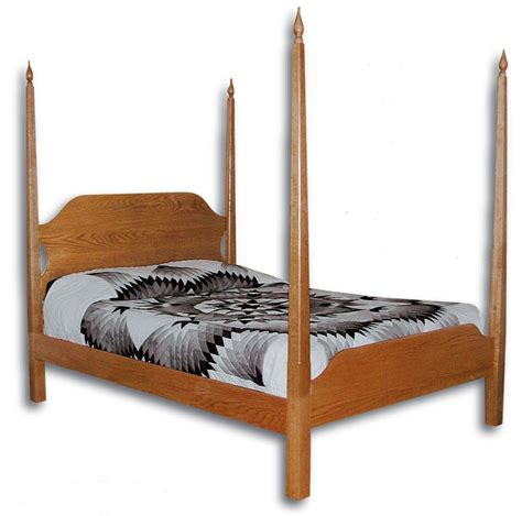 pencil bed shaker pencil post bed ohio hardword upholstered furniture