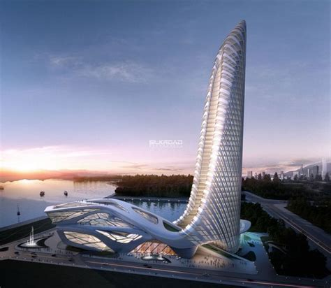 architecture inspiration futuristic skyscraper future architecture by silkroad cg