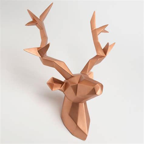 Comment Faire Un Cerf En Origami by Original Un Mix De Plusieurs Tendance Troph 233 E T 234 Te De