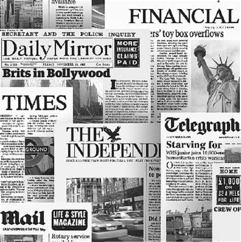 newspaper layout black and white illusion newspaper headlines white black wallpaper 20600