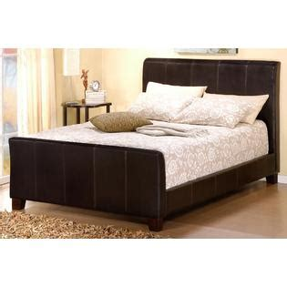 King Size Leather Sleigh Bed Oxford Creek King Size Sleigh Bed Faux Leather Home Furniture Bedroom Furniture Beds
