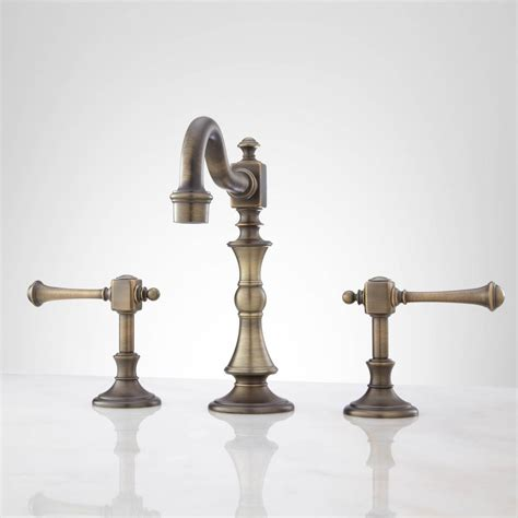 antique brass bathroom fixtures antique brass bathroom faucets single handle nucleus home