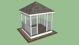 Diy Square Gazebo Plans by Wooden Gazebo Plans Howtospecialist How To Build Step