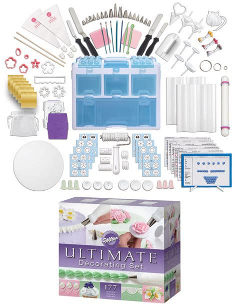 Cake Decorating Kit by Wedding Cake Part Two And Our Wilton Giveaway Winner