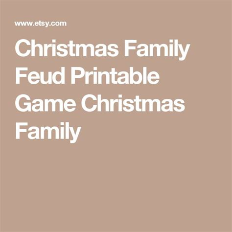 Best 25 Family Feud Game Ideas On Pinterest Family Feud Answers Play Family Feud And Family Printable Family Feud