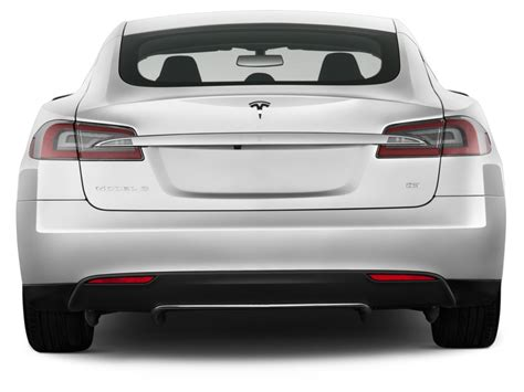 4 Door Tesla Image 2013 Tesla Model S 4 Door Sedan Rear Exterior View