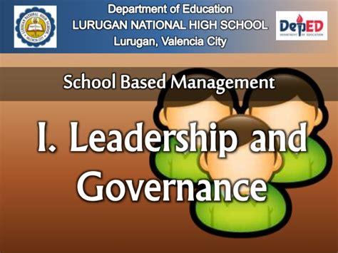 best management school school based management
