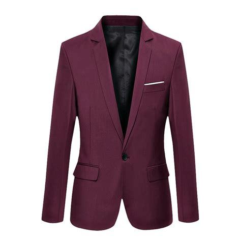Suit Blazer new fashion slim fit formal one button suit blazer