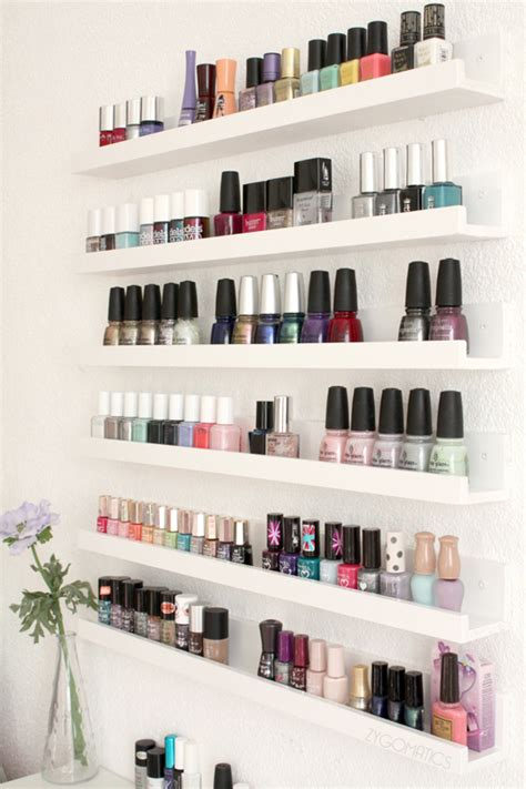 Nail Shelf by Bathroom Organization Tips The Idea Room