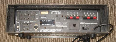 audio format ra rotel ra 300 image 439131 audiofanzine