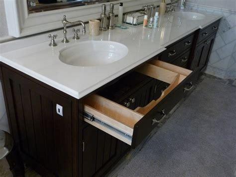 bathroom vanity with drawers under sink bathrooms