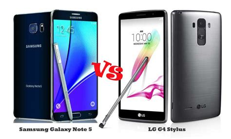Handphone Lg G4 Stylus g4 stylus vs note 5 a stylus duel tech gadget central