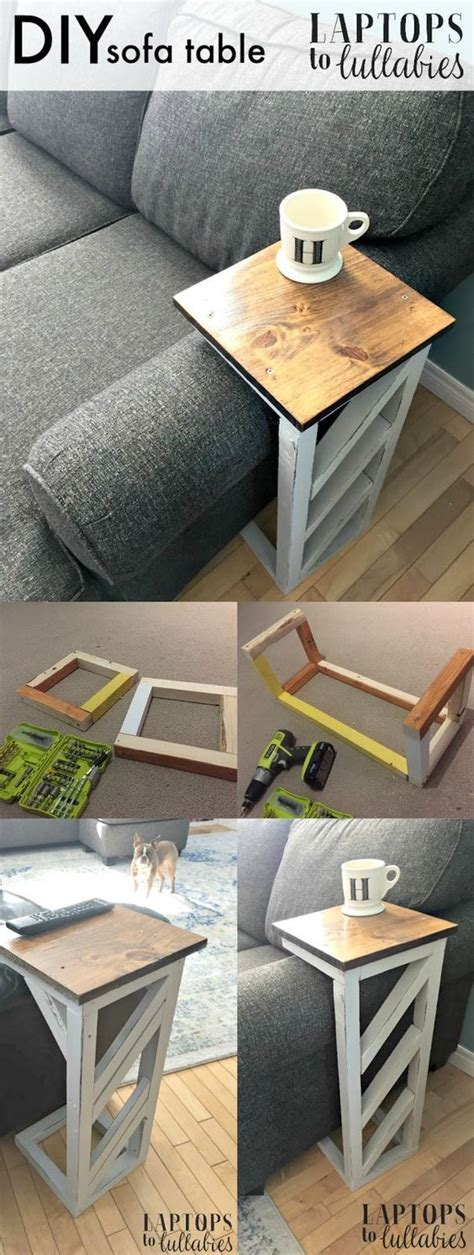 sofa table diy 20 easy diy console table and sofa table ideas hative