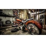 Harley Davidson En Taller  Fondos De Pantalla HD