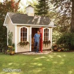 how to build a cheap storage shed the family handyman
