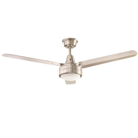 52 brushed nickel ceiling home decorators collection merryn pointe 52 in led