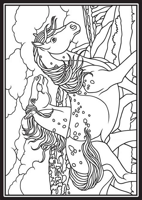 free coloring pages of wild horses