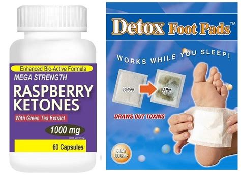 Detox Foot Pads Target by 1000mg Raspberry Ketones Pills Detox Colon Cleanse