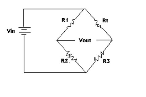 wheatstone bridge with resistor in middle input transducers