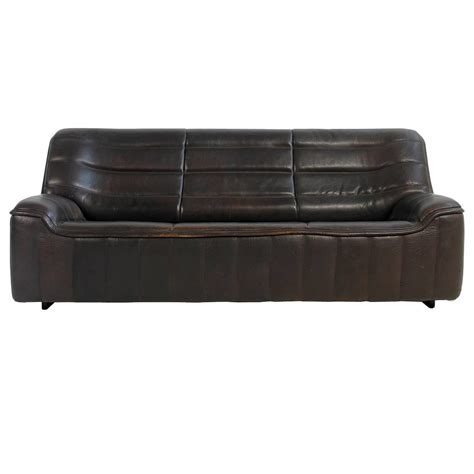 Buffalo Leather Sofa Beautiful Vintage 1970s De Sede Ds 84 Buffalo Leather Sofa In Brown For Sale At 1stdibs