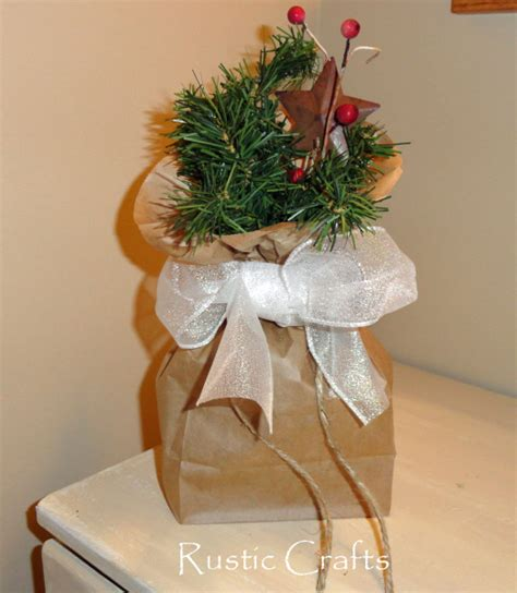 gift wrap bag gift wrapping ideas using lunch bags and kraft paper